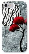 A Love Story No 23 IPhone Case by Oddball Art Co by Lizzy Love