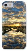 A Magical Marshmallow Sunrise  IPhone Case by Ron Shoshani