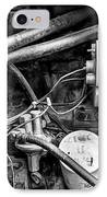 A Mechanic's View IPhone Case by Jeff Burton