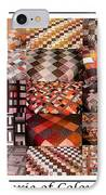 A Menagerie Of Colorful Quilts -  Autumn Colors - Quilter IPhone Case