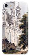 A Mosque At Gazipoor IPhone Case by William Hodges
