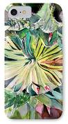 A New Sun Flower IPhone Case by Mindy Newman