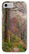 A Path In The Wood IPhone Case