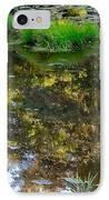 A Quiet Little Pond IPhone Case by Ira Shander
