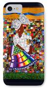 A Quilter's Dream IPhone Case by Aisha Lumumba