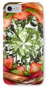 A Round Of Fresh Fruit Salad IPhone Case by Anne Gilbert