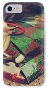 A Sweet Christmas Surprise IPhone Case by Laurie Search