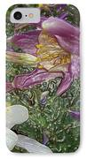 a taste of dew i do and PCC  garden too     GARDEN IN SPRING MAJOR IPhone Case by Kenneth James