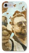 A World Of Pain IPhone Case by Filippo B
