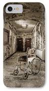 Abandoned Asylums - What Has Become IPhone Case by Gary Heller
