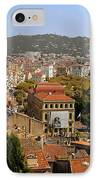 Above The Roofs Of Cannes IPhone Case by Christine Till