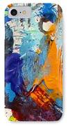 Abstract 10 IPhone Case by John  Nolan