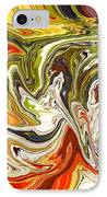 Abstract 127 IPhone Case by Carol Sullivan