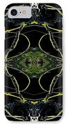 Abstract 160 IPhone Case by J D Owen