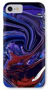 Abstract 170 IPhone Case by J D Owen
