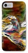 Abstract 2 IPhone Case by Francoise Dugourd-Caput