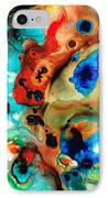 Abstract 4 - Abstract Art By Sharon Cummings IPhone Case