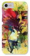 Abstract Art IPhone Case by Catf