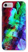 Abstract Bold Colors IPhone Case by Andrea Anderegg