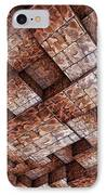 Abstract Ceiling Stone Construction  IPhone Case