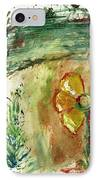 Abstract Daisy IPhone Case by Cathy Peterson