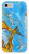Abstract Elements  IPhone Case by Pixel Chimp