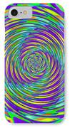 Abstract Hypnotic IPhone Case by Kenny Francis