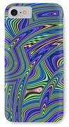 Abstract Lines IPhone Case by John Edwards