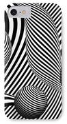 Abstract - Poke Out My Eyes IPhone Case by Mike Savad