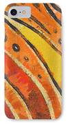 Abstract Rainbow Tiger Stripes IPhone Case by Pixel Chimp