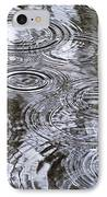 Abstract Raindrops IPhone Case by Christina Rollo
