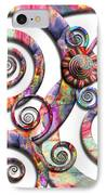 Abstract - Spirals - Wonderland IPhone Case