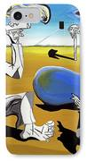Abstract Surrealism IPhone Case