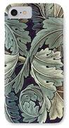 Acanthus Leaf Design IPhone Case by William Morris