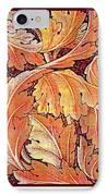 Acanthus Vine Design IPhone Case by William Morris