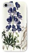 Aconitum Napellus IPhone Case