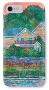 Across The Marsh At Pawleys Island       IPhone Case by Kendall Kessler