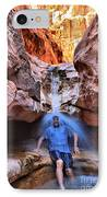 Adam Jewell At Capitol Reef Shower And Laundromat IPhone Case by Adam Jewell