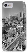 Aerial Photography Downtown Nashville IPhone Case by Dan Sproul