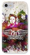 Aerosmith In Color IPhone Case by Aged Pixel