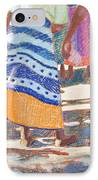 African Colors IPhone Case by Tracy L Teeter