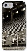After The Game - Franklin Field Philadelphia IPhone Case by Bill Cannon