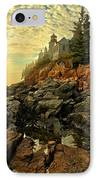 Afternoon At Bass Harbor IPhone Case