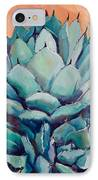 Agave With Pups IPhone Case by Athena  Mantle