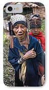 Akha Tribe II IPhone Case by Steve Harrington