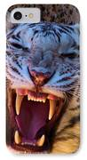 Albino Fangs IPhone Case