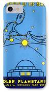 Alder Planetarium IPhone Case by Jennifer Rondinelli Reilly - Fine Art Photography