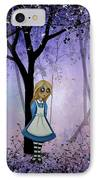 Alice In An Enchanted Forest IPhone Case