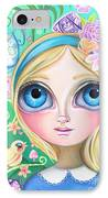 Alice In Pastel Land IPhone Case