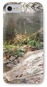 Along The Black Water River IPhone Case